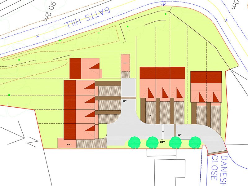 Surrey – High risk site immediately adjacent to property